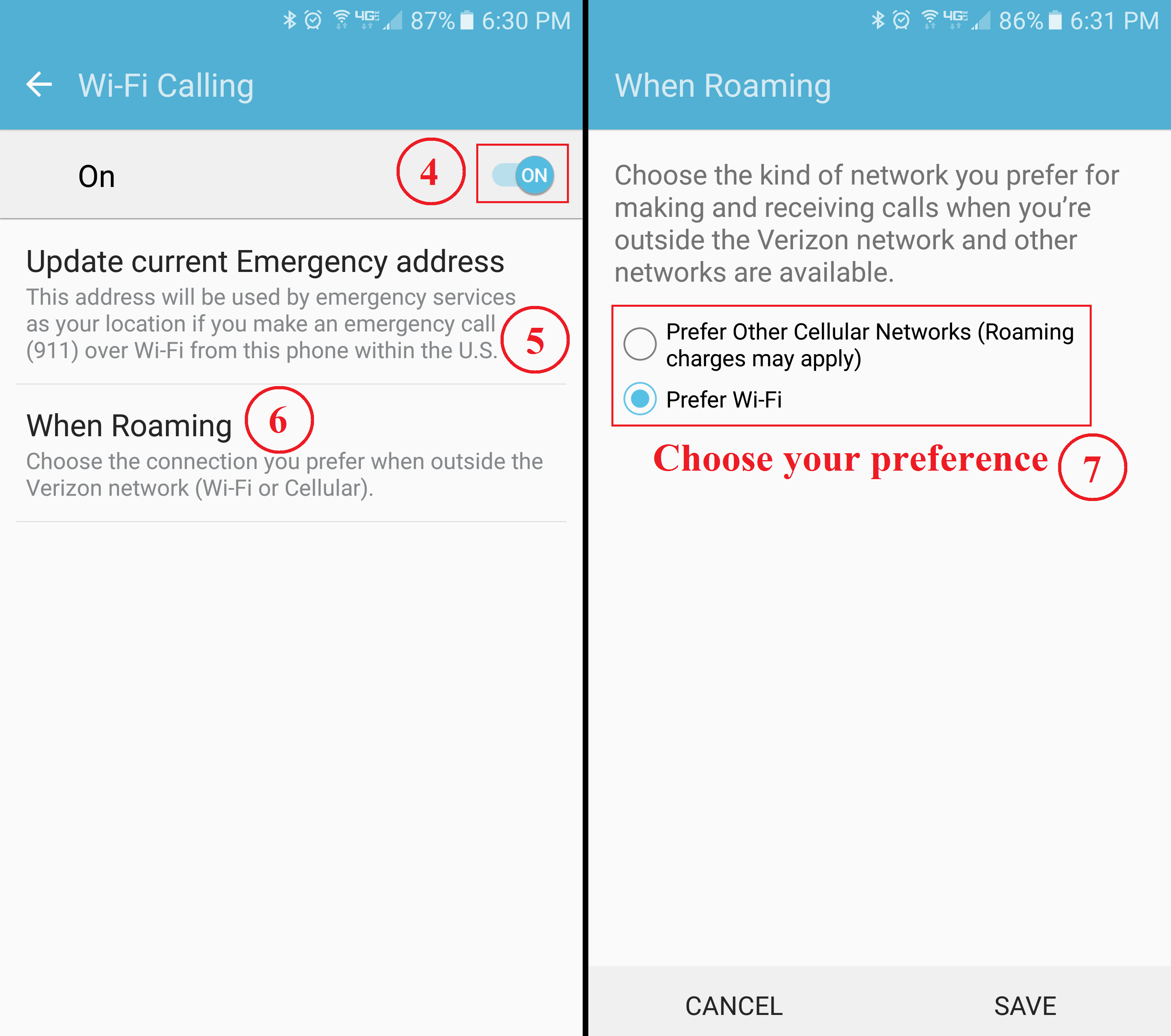 Verizon Android Wi-Fi Calling | Nolans Wireless Blog